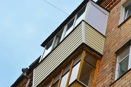 Металлоконструкция для балконов и лоджий..
