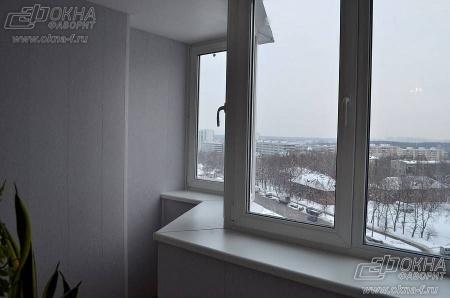 Остекление балконов и лоджий п-44т. скидки 30%..
